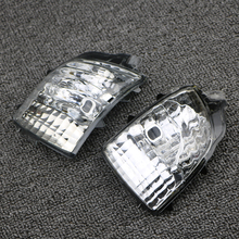 For Volvo XC70 XC90 2008-2012 Left Right Rearview Wing Mirror Turn Signal Indicator Light Corner Lamp Lens 31111813 31111814 front turn signal light lens for suzuki hayabusa gsx1300r gsxr1300 2008 2012