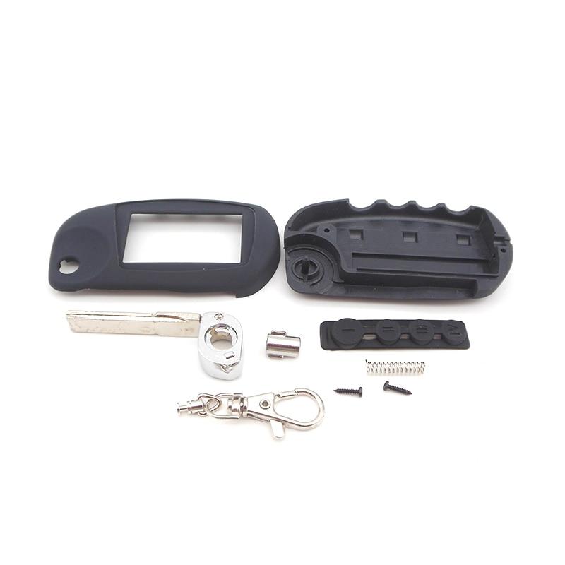 New arrival M5 filp case for Scher Khan magicar 5 uncut blade fob case cover M5 folding car flip remote