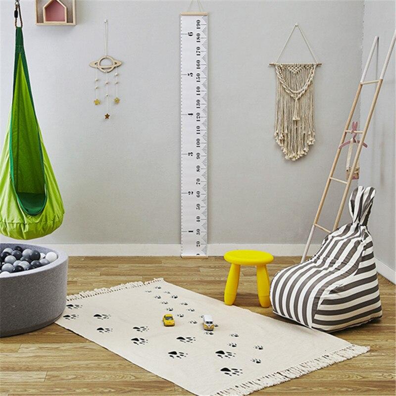 Dog Footprints Kids Baby Children Play Game Floor Rug Mat Floor Carpet Teepee Rug 90*150cm Nursery Room Photography Props Decor