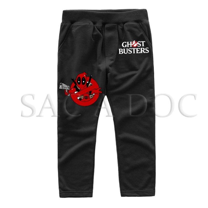 Straight Pants Sportswear Long-Trousers Winter Casual New-Fashion Autumn Deadpool Ghostbusters