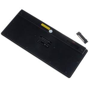 Image 4 - Kemile 2.4g mini teclado sem fio e mouse óptico combinação preto/whit para samsung smart tv desktop pc