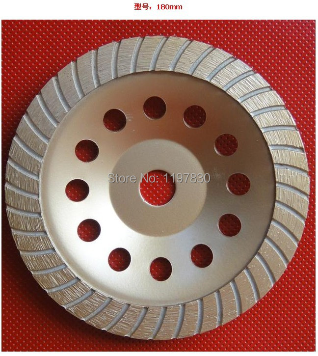 Free shipping of hot sinetering 180*22*5mm super I turbo segment diamond cup wheel for grinding stone marble/granite/concrete free shipping of hot sintering 230mm 22mm 5mm double rows diamond cup grinding wheel for good grinding marble granite concrete