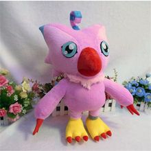 Digital Monsters Digimon Takenouchi Sora Piyomon Cosplay Toy Anime Pink Plush & Stuffed Cartoon Doll(China)