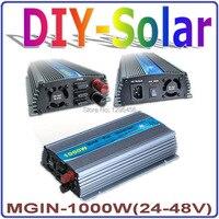1000 Вт 24 48vdc mppt сетки галстук инвертор для 1000 Вт 1200 Вт 36 В Солнечный Системы, 120 В или 230 В переменного тока синусоидальной формы Выход инвертор