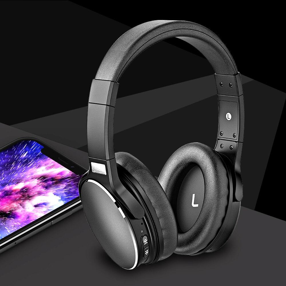 ALWUP H1 Sports Active Noise Cancelling fone de Ouvido Bluetooth Sem Fio Fones De Ouvido de ALTA FIDELIDADE 30 horas Fone De Ouvido para celular com microfone 5.0