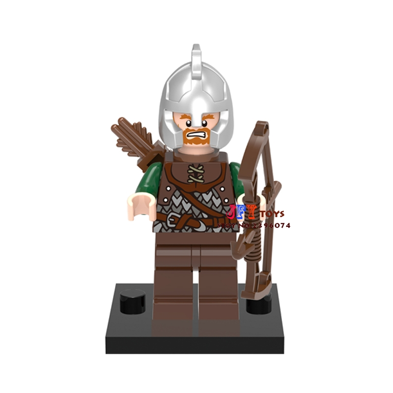 50pcs The Lord of the Rings Hobbit Archer building blocks bricks friends for girl kids children toys brinquedos menina