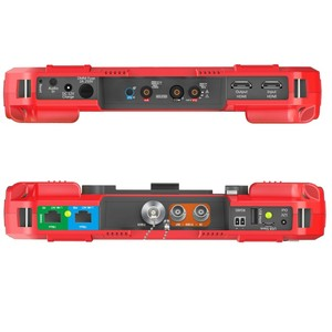 Image 3 - Profesyonel HD Birleştirmek Test Cihazı DT A86 7 Inç H.265 4 K IP kamera test cihazı 8MP TVI CVI 5MP AHD CVBS CCTV Test Cihazı monitör Multimetre