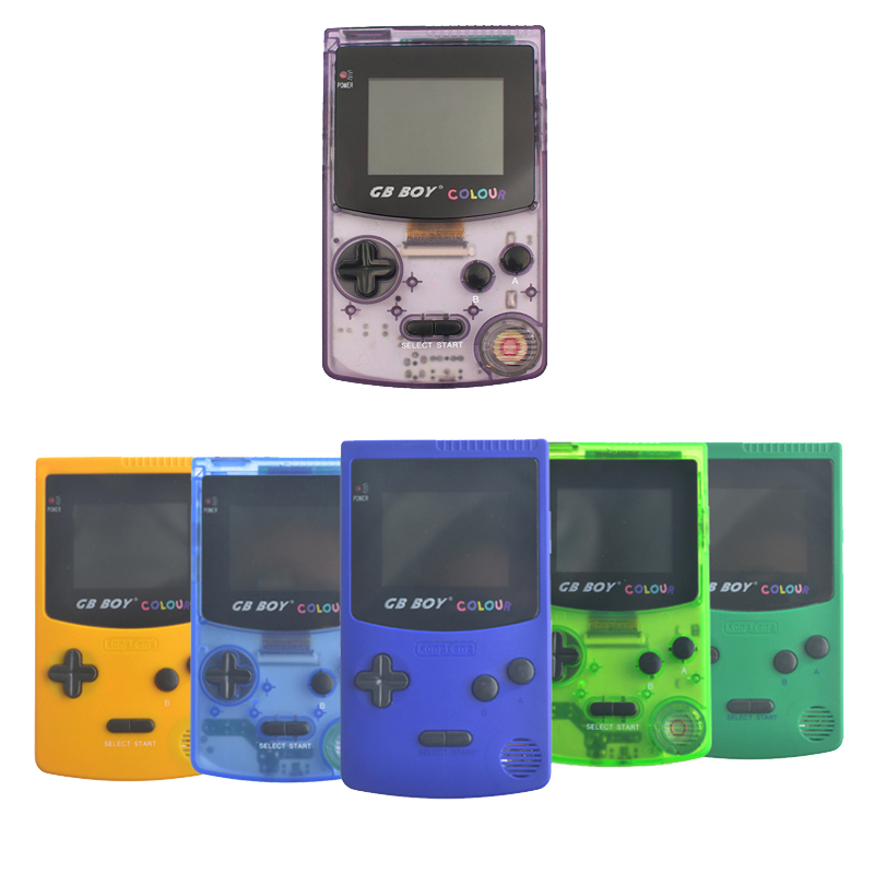 GB Boy Classic 2.7 Color Colour Handheld Game Console Game Player with Backlit 66 Built- ...