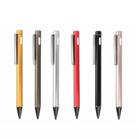 New 2 0mm Capacitive Active Touch Pen Stylish Painting Pens Rechargeable