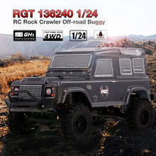 HIINST RGT 136240 de 1/24 a 2,4G 4WD 15 KM/H RC Rock Crawler Off-road Buggy coche juguete RTR MAR30(China)