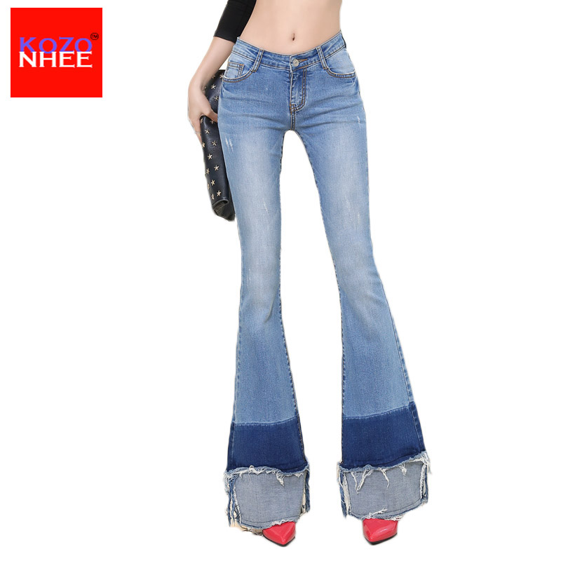 Ripped Flare Jeans Promotion-Shop for Promotional Ripped Flare ...
