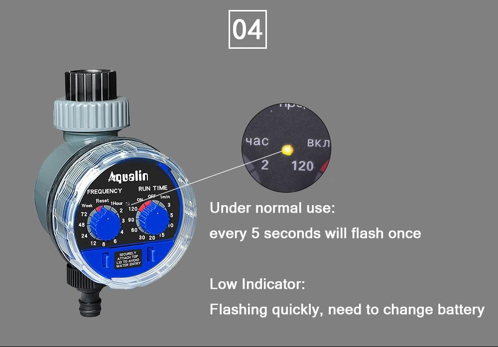 HTB1cvNKXOHrK1Rjy0Flq6AsaFXa6 Garden Watering Timer Ball Valve Automatic Electronic Water Timer Home Garden Irrigation Timer Controller System #21025