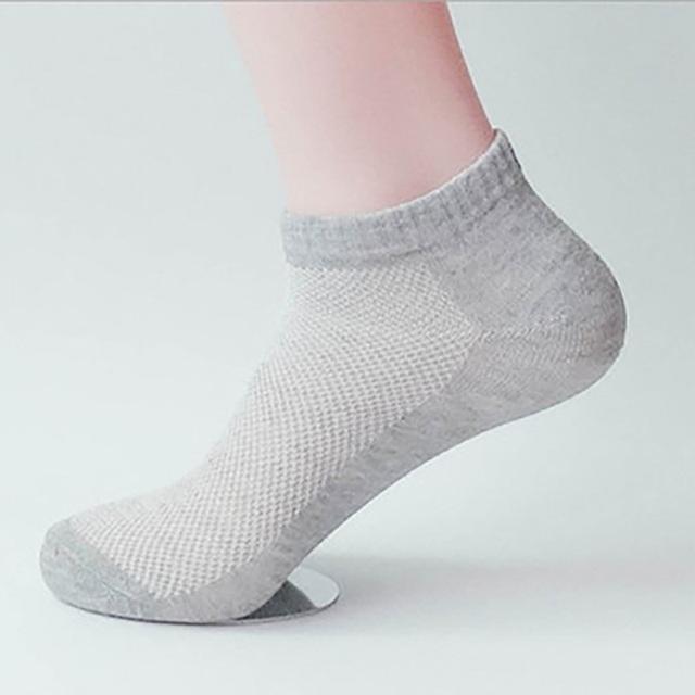 Men's Solid Color Socks
