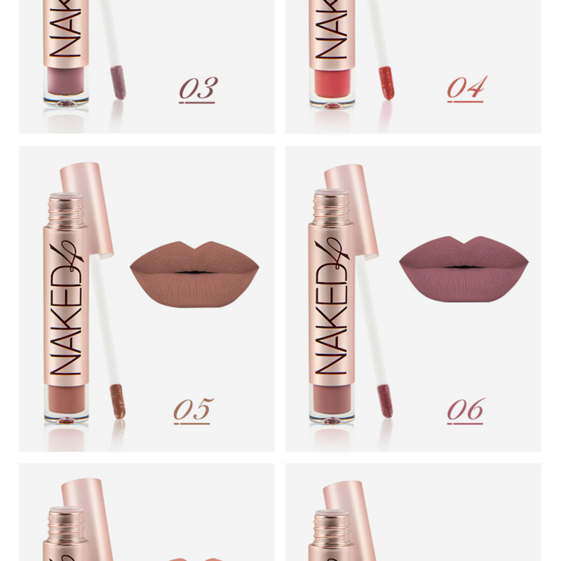 200 Matte Or High Gloss Colors: O.TWO.O Brand High Quality Matte Color Lip Gloss Easy To