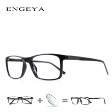 8cb5d1d853 ENGEYA Men TR90 Spectacles Frame Clear Myopia Optical Prescription Eye  Glasses Bright