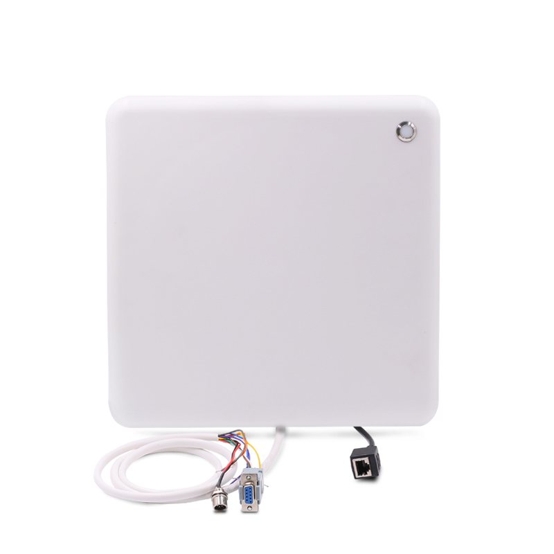 IP67 R2000 integrated sdk rfid uhf reader read and write EPC GEN2 protocol tag with sample windshield tag for parking system rs232 uhf rfid fixed reader impinj r2000 with 4 antenna ports for marathon sporting provide free sdk and sample card and tag