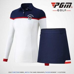 Vestiti Da Golf PGM Femminile Breve Diviso Estate Donna Da Tennis A Pieghe Mini Gonna T-Shirt Fodera XS S M L XL