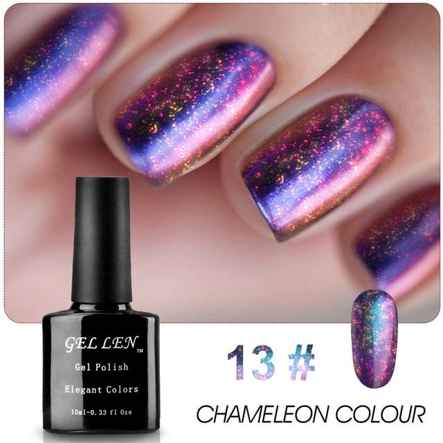 Gel Len Nail UV Gel Polish Chameleon UV Gel Limited Sale New Arrival High Quaility The Best Gel Lacquer