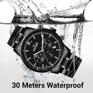 Image 4 - SWISH montre à Quartz pour hommes, mode Sport, marque de luxe, étanche, 2020