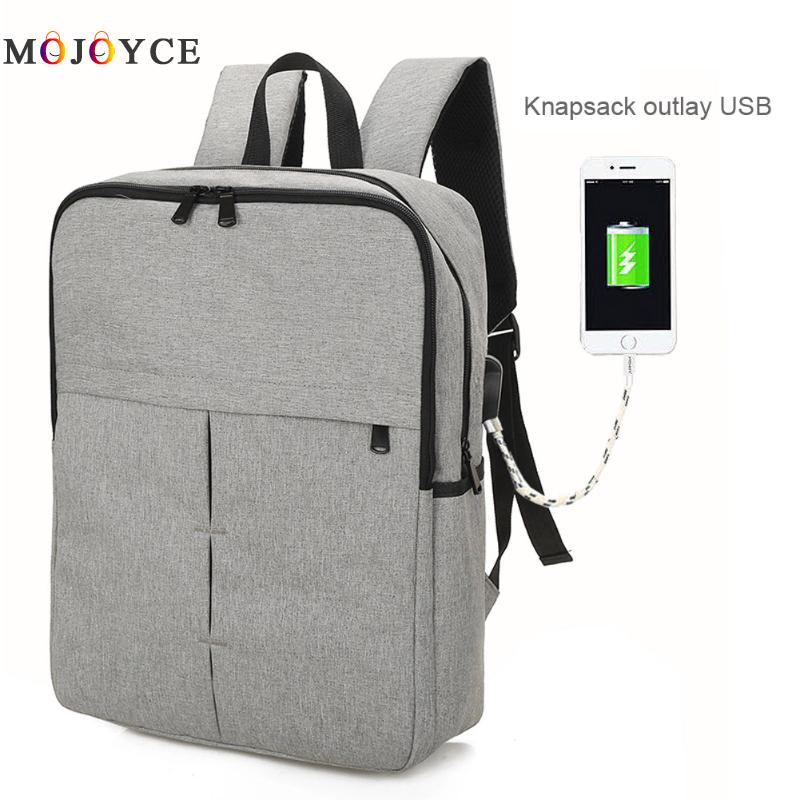 USB Charging Men Backpacks Fashion Design Male Casual Travel women Teenagers Student School Bags Simple Notebook Laptop Backpack
