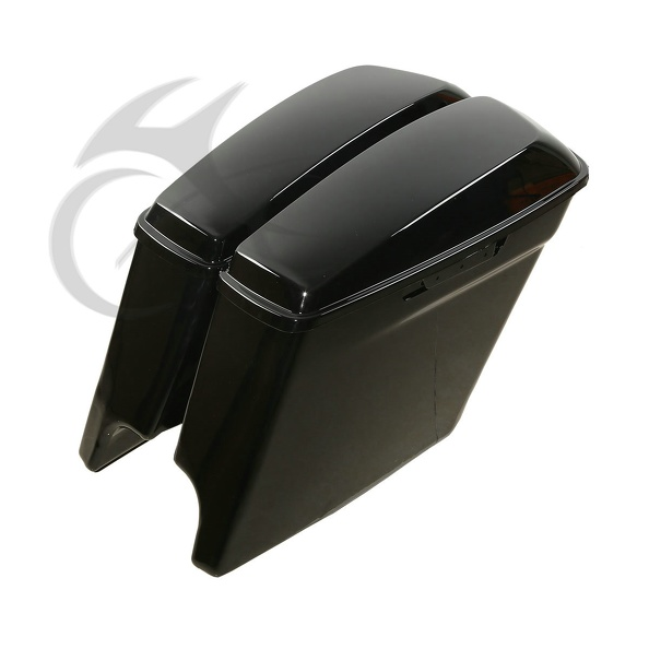 Faithful Tcmt Abs Hard Extended Stretched Saddlebags For Harley Road King Street Glide 14-18 Punctual Timing Motorcycle Accessories & Parts
