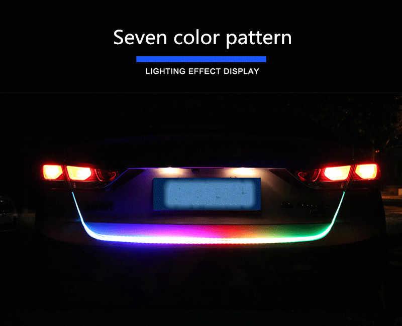 Acessórios do carro Traseiro motion Mutável LED da luz do carro Da shift de Engrenagem knob para SUZUKI swift jimny grand vitara sx4 vitara 2016 samurai