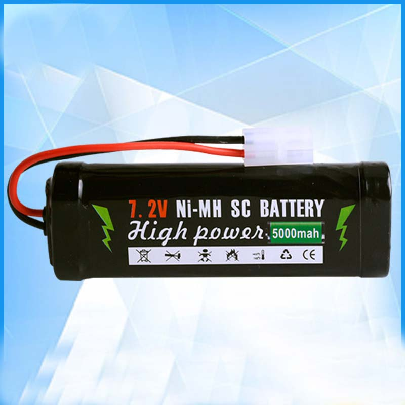 Cncool 6 Cell Sub C Stick Pack NiMh 7 2V Battery 5000mAh RC Cars Drift ONI7302 RC Toys For Children in Rechargeable Batteries from Consumer Electronics