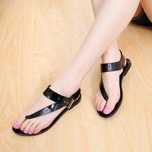 MIUBU Summer Women Flat Sandals Casual Bohemia Ankle Strap Buckle Gladiator Shoes Beach Flip Flops цены онлайн