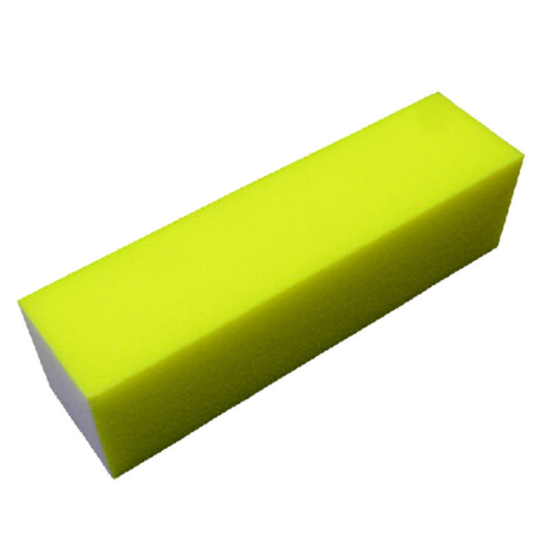 Color Random Buffer Nail Files Fluorescent Color Sanding Block Manicure Nail Art Tips Women 1Pcs Free Shipping