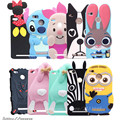 3D cartoon silicone case for Xiaomi redmi 3s case cover For xiaomi redmi 3 s phone case redmi 3 pro cases 5.0""
