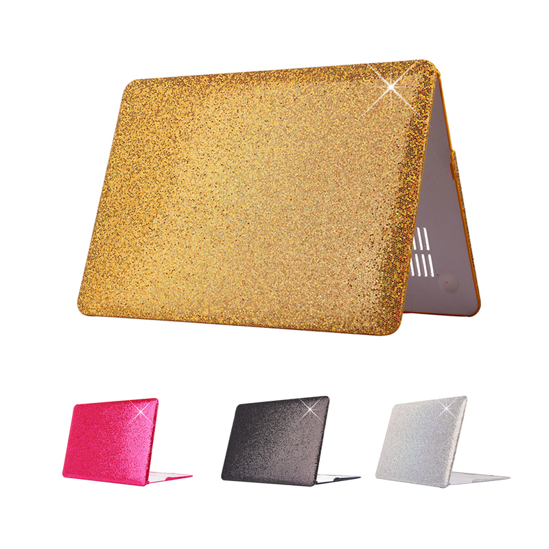 Fashion Glitter Shiny Pattern Plastic Case for Macbook Air 11 13 Pro 13 Retina 12 13 15 Laptop Hard Shell for MacBook 13.3 Inch