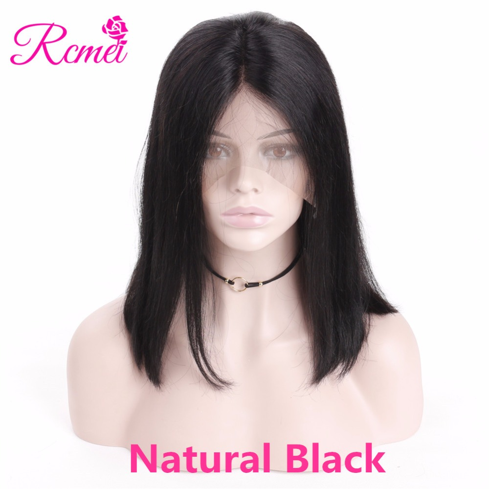 Natural black bob wigs