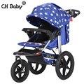 CH 16 polegada cheia de ar roda de borracha carrinho de bebê do bebê alta qualidade baby jogger bebê grande roda de alumínio frame da liga carrinho de bebê