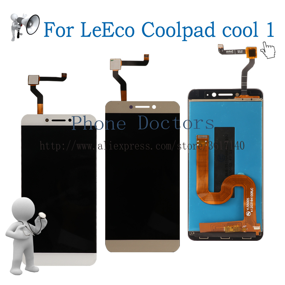 5,5 ''Voll LCD DIsplay + Touchscreen Digitizer Assembly Für LeTV LeEco Coolpad Cool1 Coole 1 C106 C106-7 C106-9 C103 R116