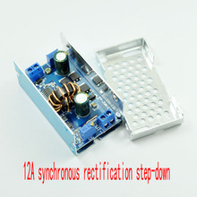 цены 12A high current step-down constant current led driver ic dc-dc DC adjustable 5V6V9V12V step-down module