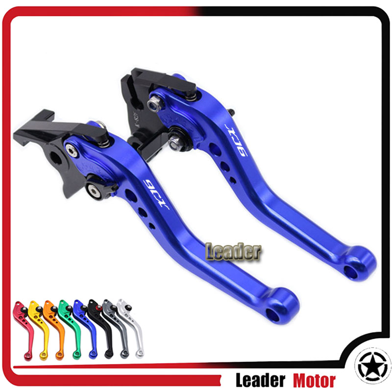 For YAMAHA XJ6 DIVERSION 2009 2010 2011 2012 2013 2014 2015 Motorcycle Accessories Short Brake Clutch Levers LOGO XJ6