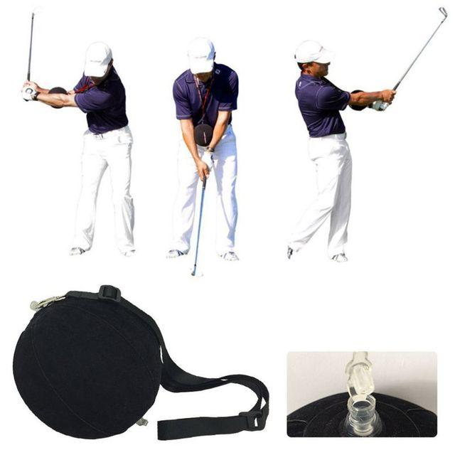 Тренировка качания для гольфа набор помощи Гольф-тренажер мяч качели коррекции осанки надувной мяч учебные пособия для гольфа