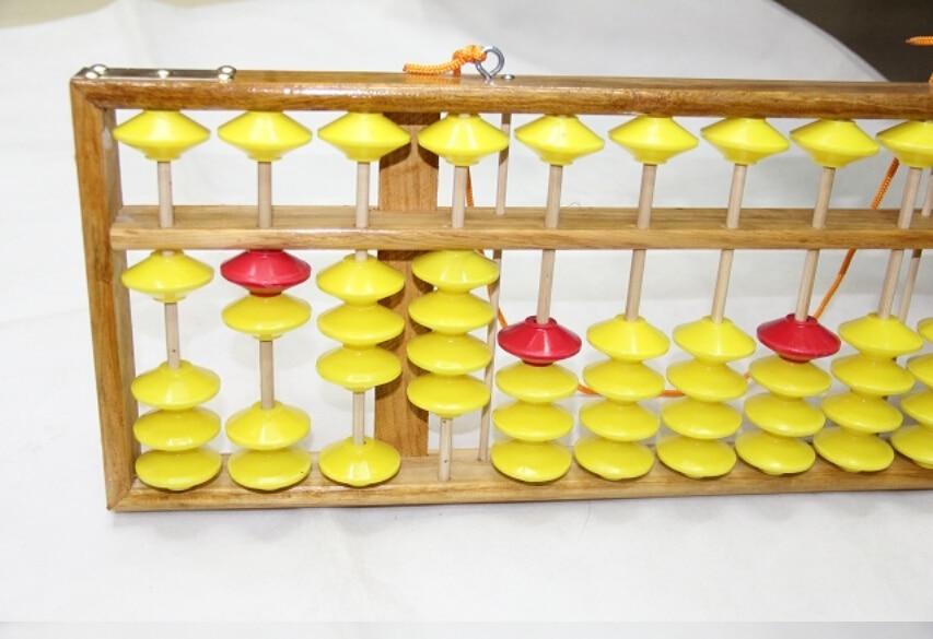 Abacus 13 column wood hanger big size Chinese abacus soroban Tool ...