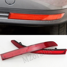 MZORANGE For VW Touran 2008 2009 2010 Red Rear Bumper Reflector Brake Lamp False Light Decorative Lights High Quality Wholesale