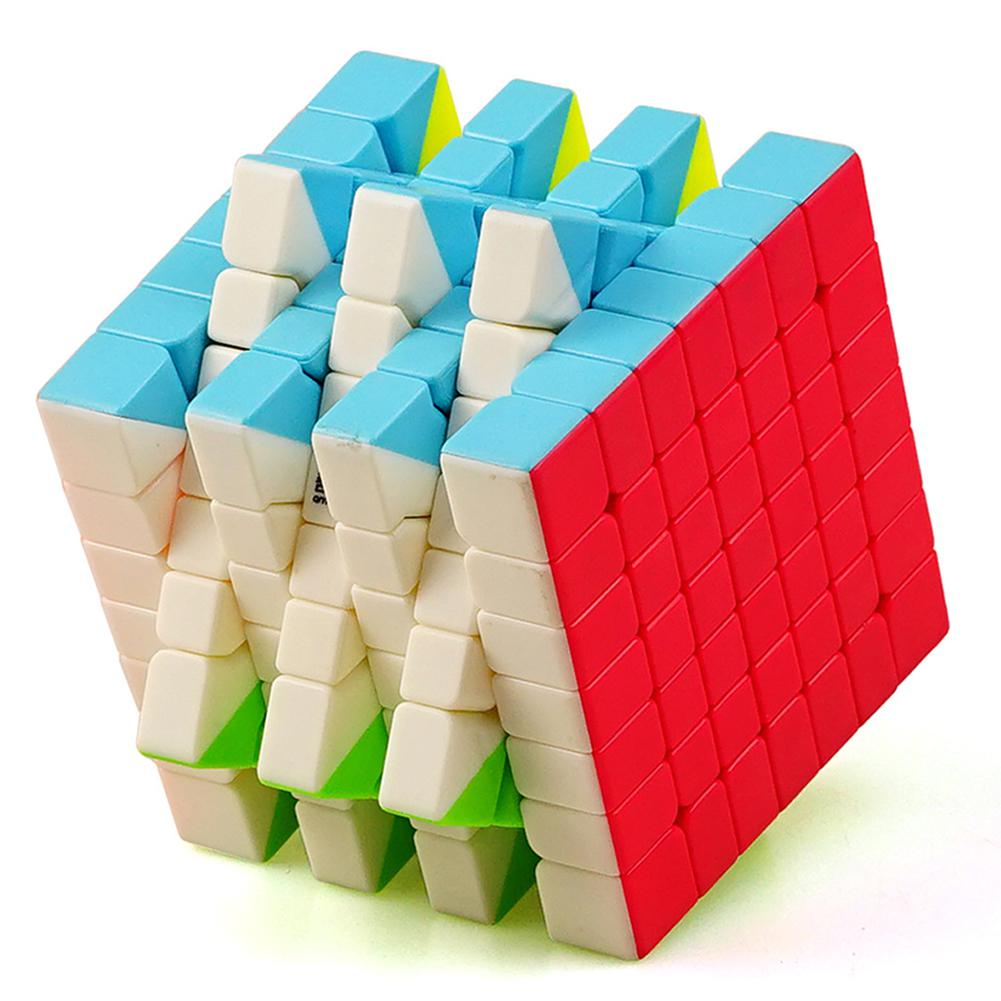 RCtown 7X7 Colorful Magic Cube Brain Teaser Adult Releasing Pressure Puzzle Speed Cube Toy Gift Zk30
