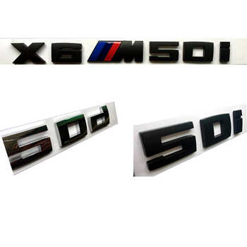 Car Sticker Styling ABS Material Fuel Emissions for BMW E46 M50d X3 X4 X5 X6 E46 E30 E28 E90 E60 E39 E36 F30 Auto Accessories - DISCOUNT ITEM  20% OFF All Category