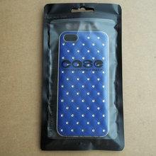 100 шт./лот 10*18 см Пластик молния прозрачный черный пакет для розничной упаковки для iphone 5s 6 6 S samsung S3 S5 S6 сотовый Чехол для телефона