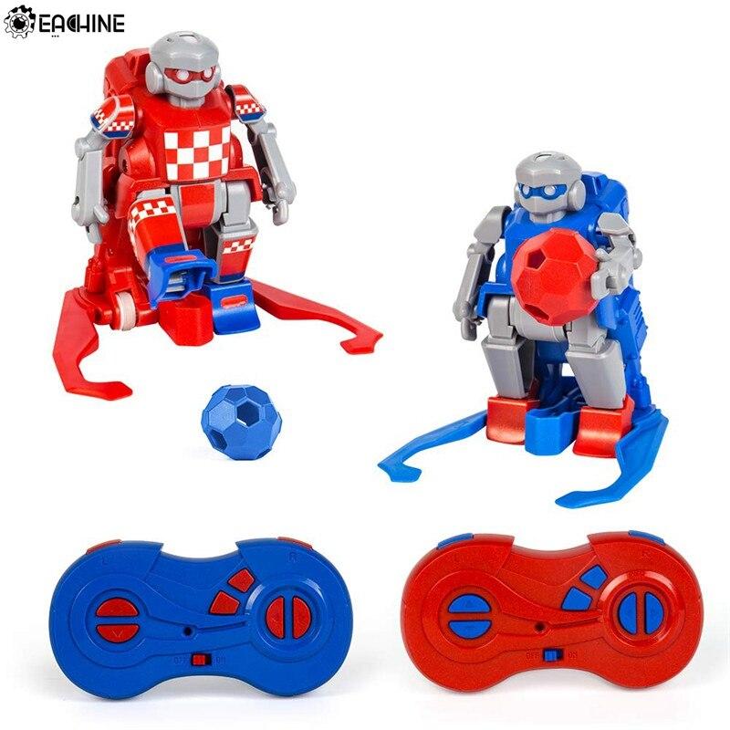 Eachine ER10 Smart RC Robot dessin animé jouer au Football Robot télécommande jouets électrique Football Robot intérieur jouets pour enfants cadeaux
