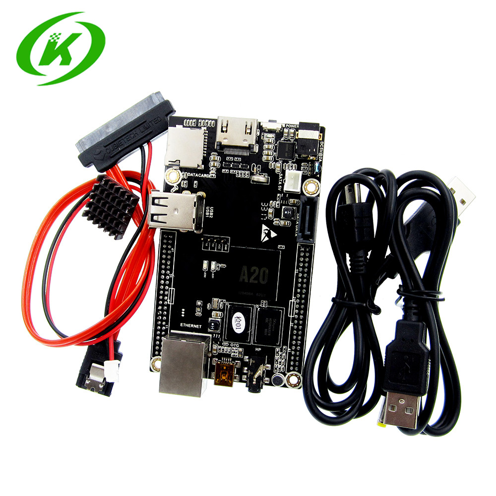 цена на 1pcs PC Cubieboard A20 Dual-core Development Board , Cubieboard2 dual core with 4GB Nand Flash
