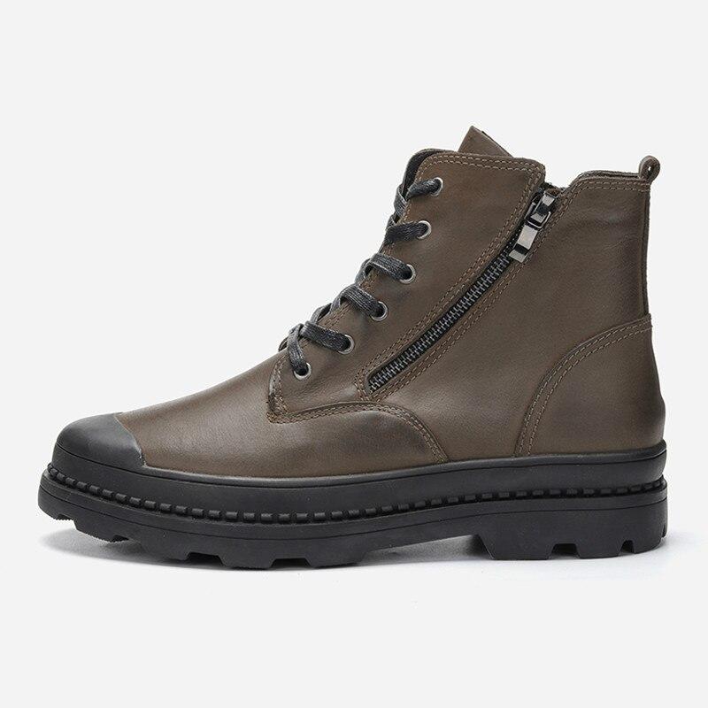 2018 Natürliche Kuh Leder Männer Stiefel Handgemachte Retro Männer Schuhe Hh-154 In Verschiedenen AusfüHrungen Und Spezifikationen FüR Ihre Auswahl ErhäLtlich