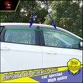 4 Unids/set car styling ventanas de Protección Protector de La Lluvia Visera Cubierta Para Ford Kuga 2013-2017 Acrílico Ventana Lluvia Visera coche decorar