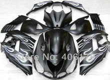 ZX-14R ZX 14R For Ninja ZX14R 2006 2007 2008 2009 2010 2011 Black Flame Sports Fairings (Injection molding)
