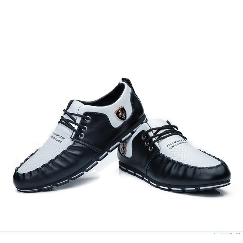 2018 Frühling Herbst Männer Casual Schuhe Slip Auf Mesh Atmungsaktiv Männer Fahren Schuhe Bequeme Weiche Herren Loafer Schuhe Casual Leder