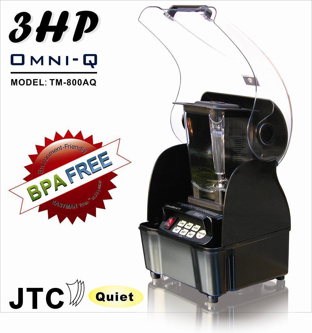 BPA Libero Frullatore Commerciale + Best Sound box recinzione, modello: TM-800AQT, nero, IL TRASPORTO LIBERO, 100% di feedback positivi!