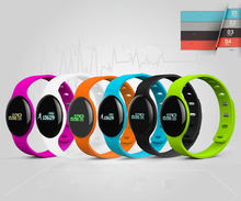 New Fashion Smart H8 Band Wearable Bluetooth Sport Health Monitoring Bracelet Heart Rate Tracker Wristband IOS Android